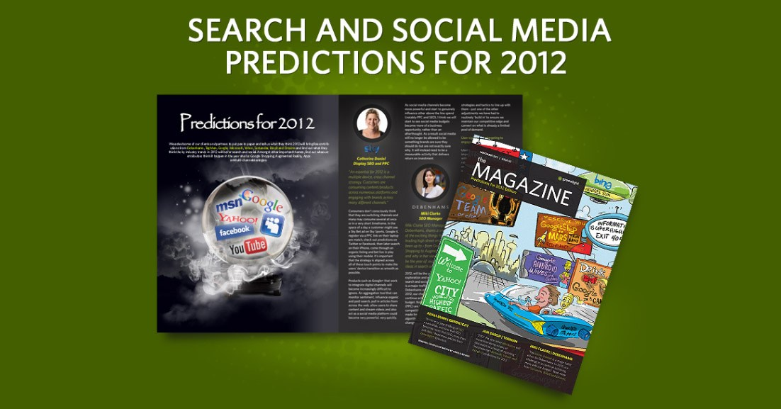 Greenlight's Search & Social Media Predictions 2012