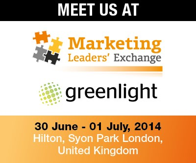 Greenlight announces participation at Marketing Leaders' Exchange 2014