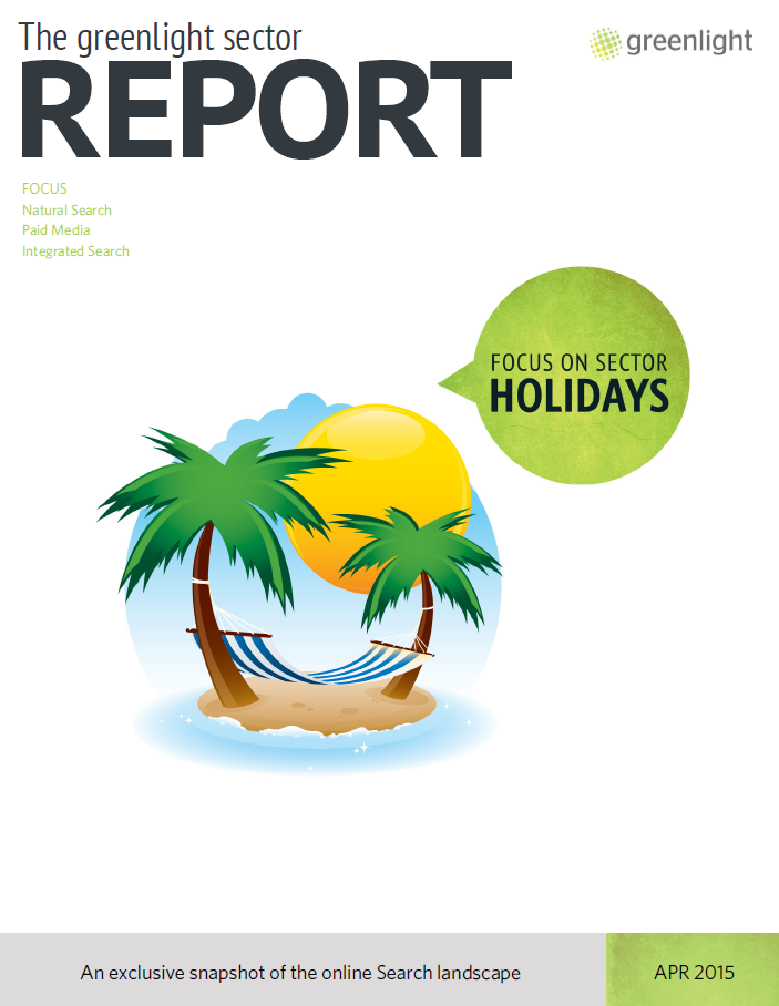 Holidays Sector Report - April 2015