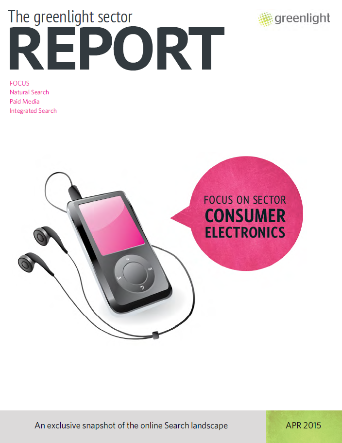 Consumer Electronics Sector Report - April 2015