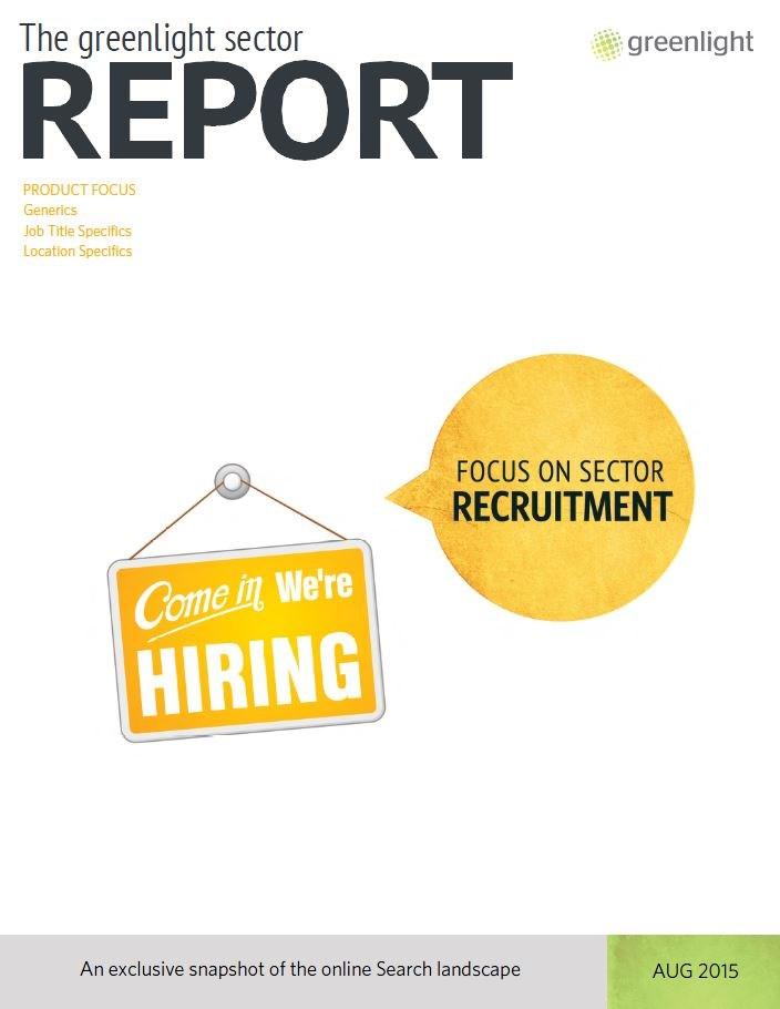 Recruitment Sector Report - August 2015