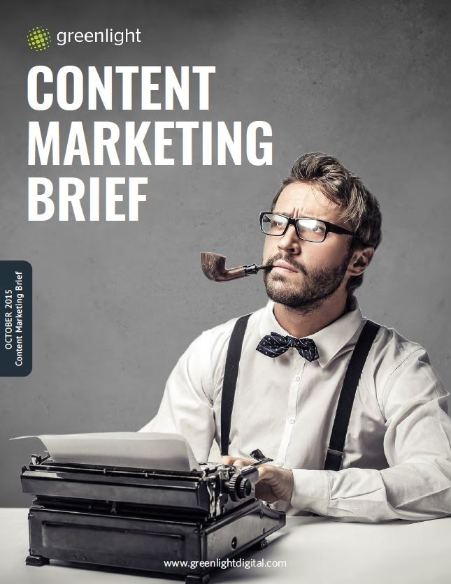 Content Marketing Brief - October 2015