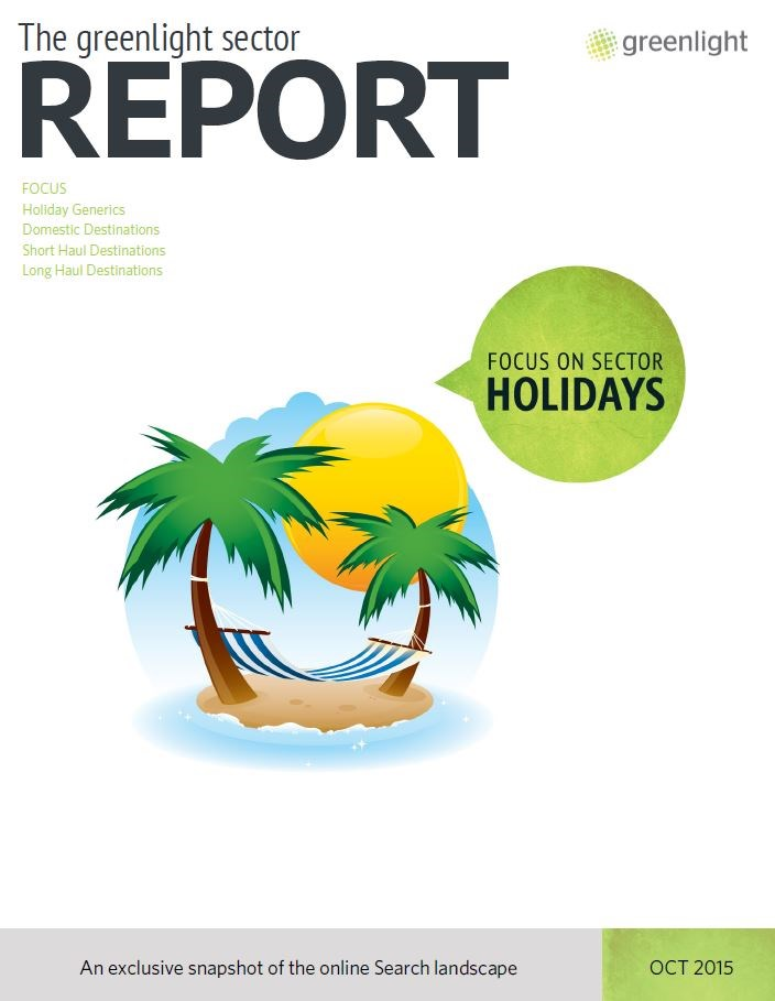Holidays Sector Report - October 2015