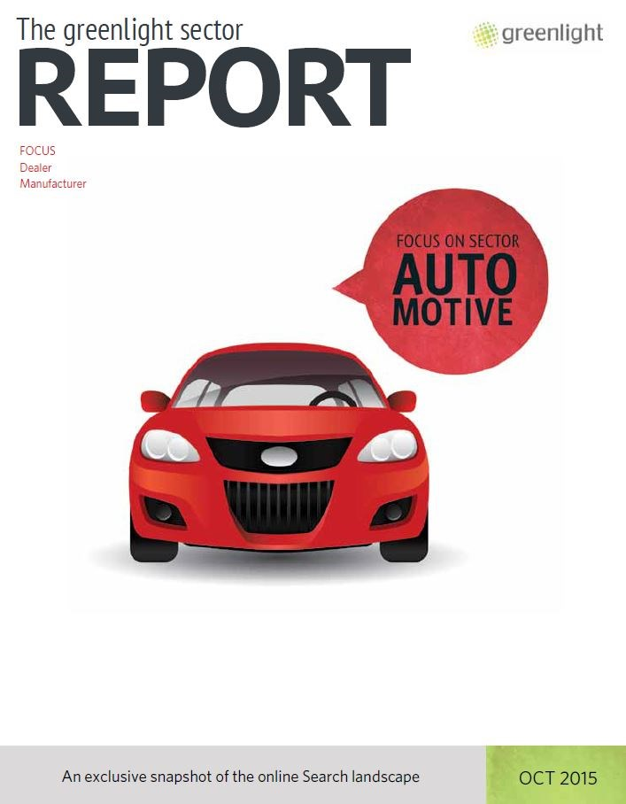 Automotive Sector Report - October 2015