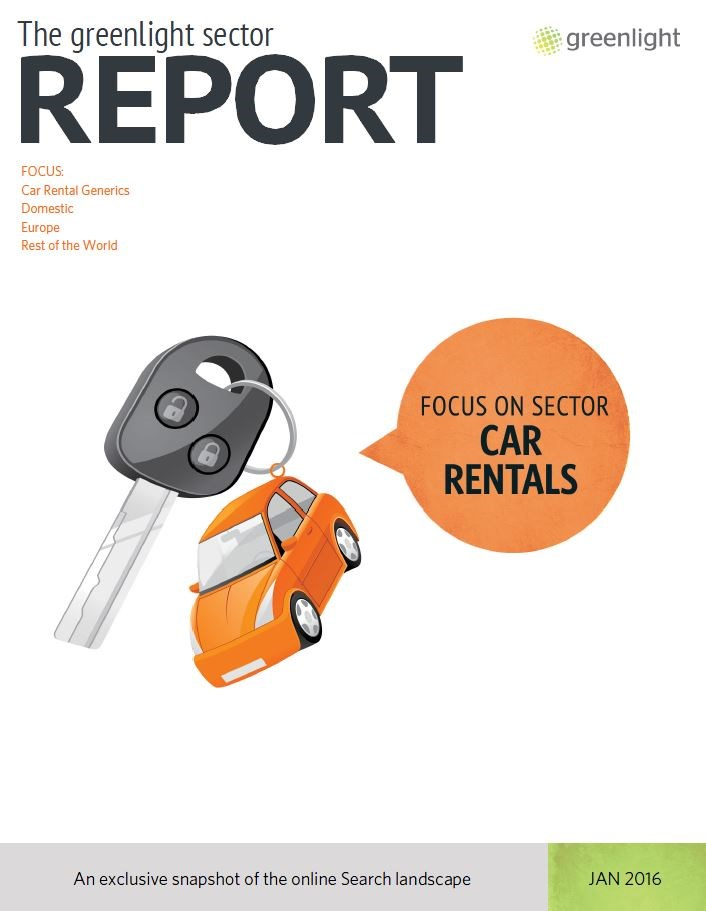 Car Hire Sector Report - January 2016