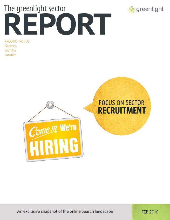 Recruitment Sector Report - February 2016