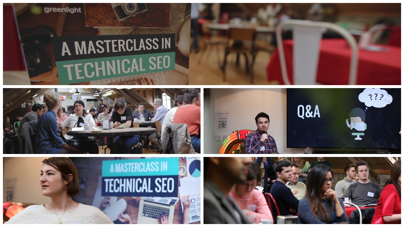 Technical SEO Masterclass: The round-up