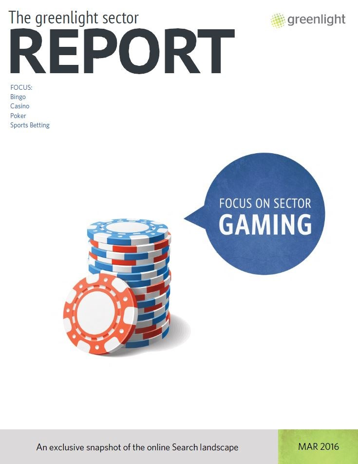 Gaming Sector Report - March 2016
