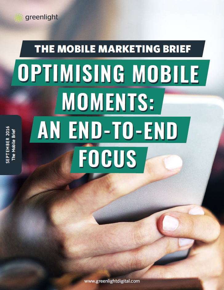 Optimising Mobile Moments: An End-To-End Focus