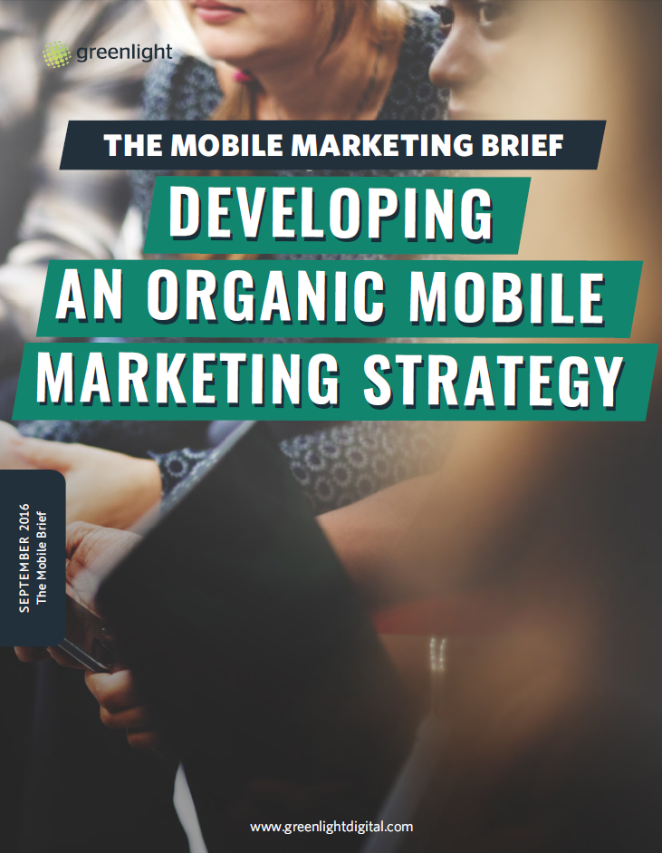 Developing An Organic Mobile Marketing Strategy