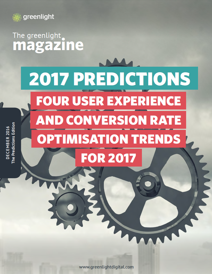 Four User Experience And Conversion Rate Optimisation Trends For 2017