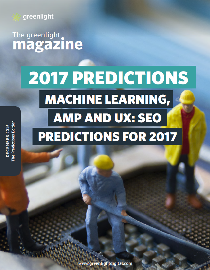 Machine Learning, AMP And UX: SEO Predictions For 2017