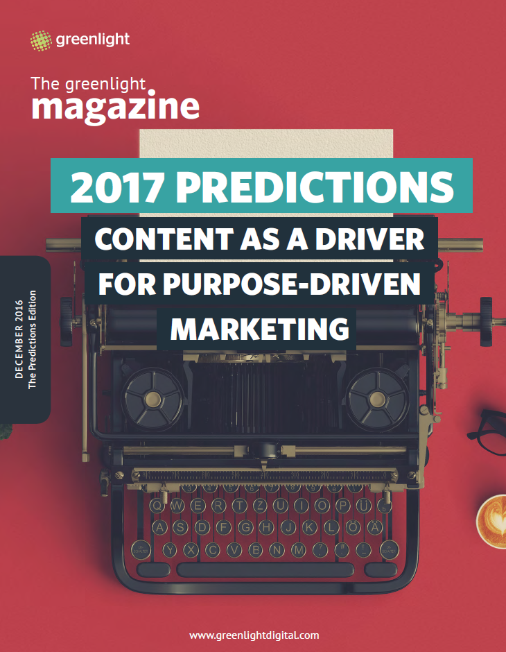 Content As A Driver For Purpose-Driven Marketing