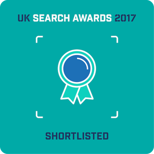 Greenlight nominated for five awards at the UK Search Awards 2017