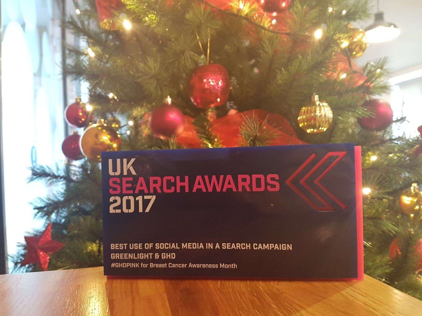 Greenlight wins at the UK Search Awards 2017