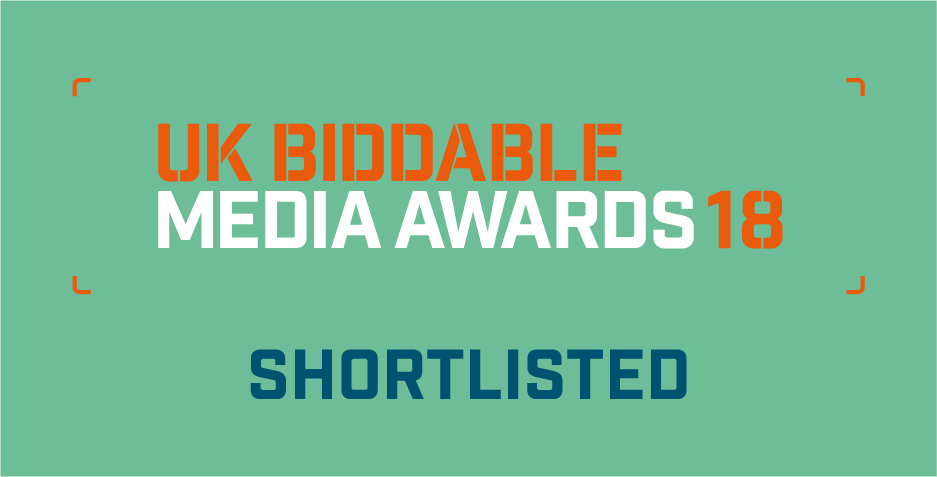Greenlight Digital nominated for eight awards at the UK Biddable Media Awards 2018