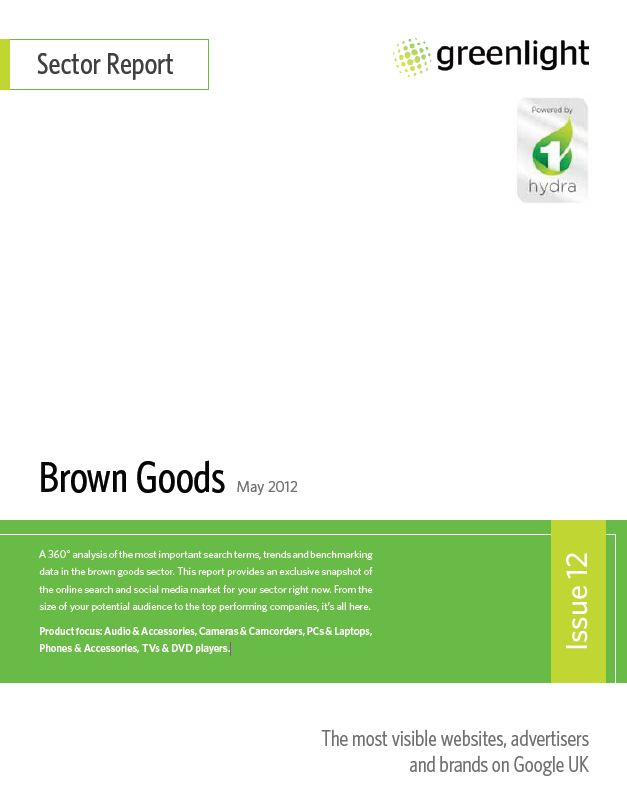 brown goods - may 2012