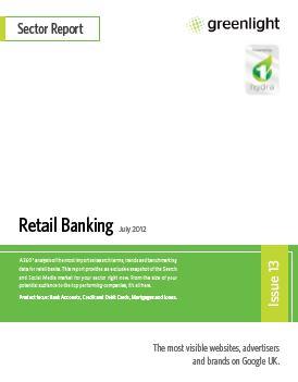 Retail Banking - July 2012