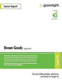 August Brown Goods report