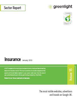 Insurance, Issue 15, January 2013 - Image