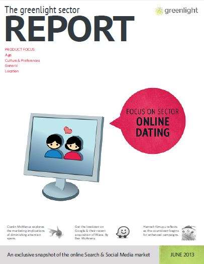 Online Dating Issue 1 cover