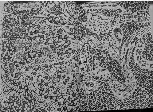 Doodling (C McManus image for blog)