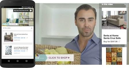 TrueView for Shopping Wayfair ad