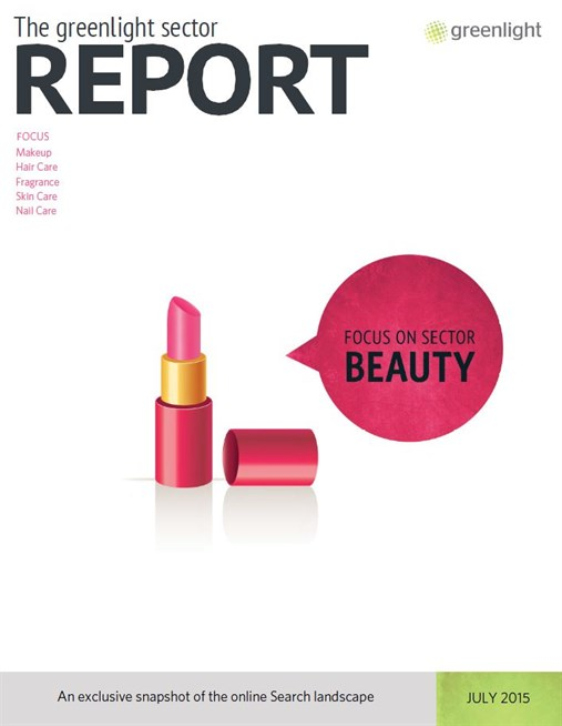 Beauty Sector Report Cover July 2015