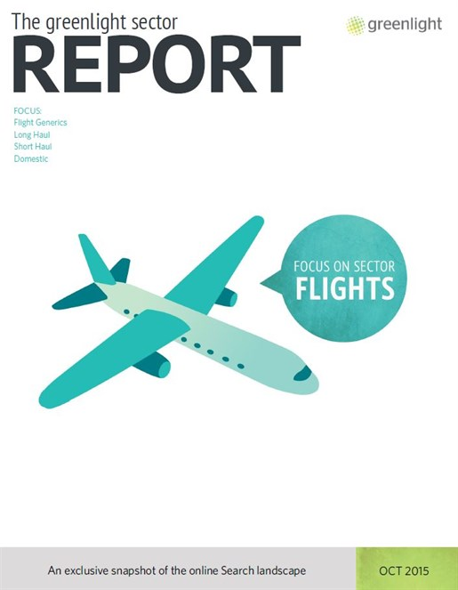 Flights Sector Report - Oct 2015 Cover