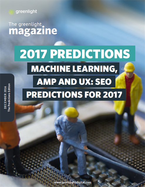 Machine Learning, AMP And UX SEO Predictions for 2017