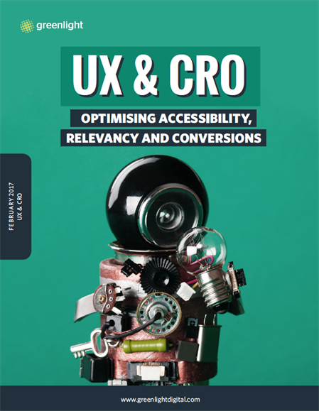 UX & CRO Optimising Accessibility Relevancy And Conversions Cover