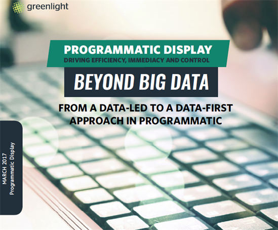 Beyond Big Data From A Data-Led To A Data-First Approach In Programmatic Display Cover