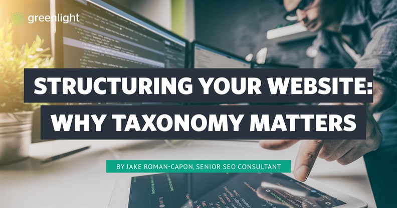 Structuring Your Website Why Taxonomy Matters Cover