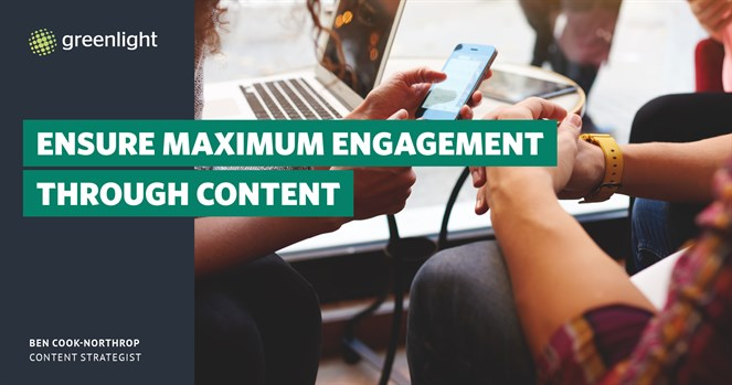 Ensure Maximum Engagement Through Content
