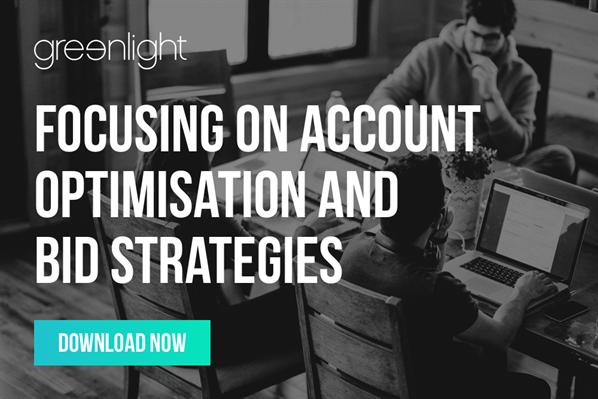 Focusing On Account Optimisation And Bid Strategies