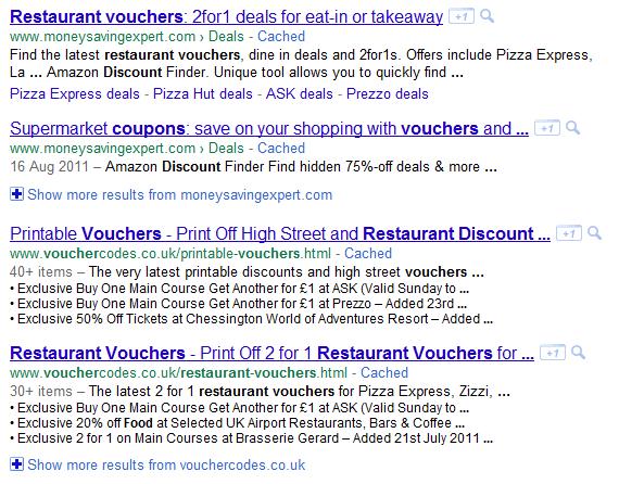 Food-vouchers